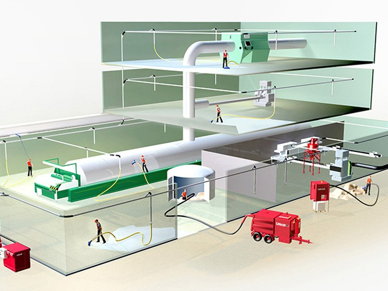 Centralised Vacuum System for Industry