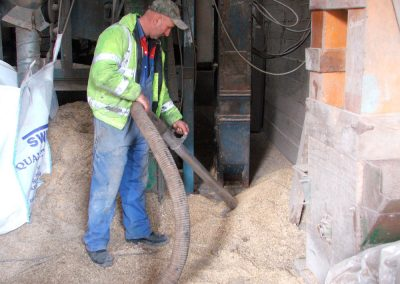 AE Hilton and Son: Grain Store Cleaning