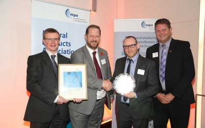 DISAB innovation helps CPI Euromix win top Health and Safety award.