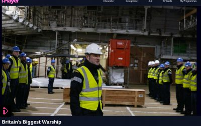 Disab BagVac Plays its Part in Building Britain's Biggest War Ship